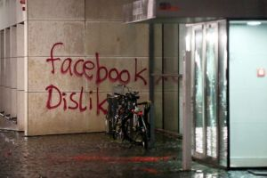 Some recent anti-Facebook graffiti in Germany.