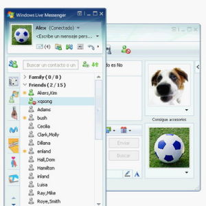 MSN Windows Live Messenger for Passport—the IM client that we all loved to hate.