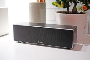 The larger Sony SRS-Z7 soundbar.