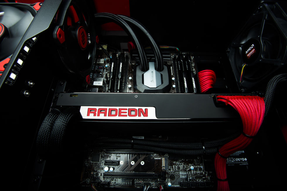 The Radeon Pro Duo packs in two Fury GPUs and is aimed at VR content creators, rather than consumers