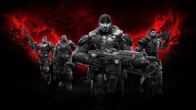 <em>Gears of War: Ultimate Edition</em> is one of the few big-budget games available on the Windows Store.
