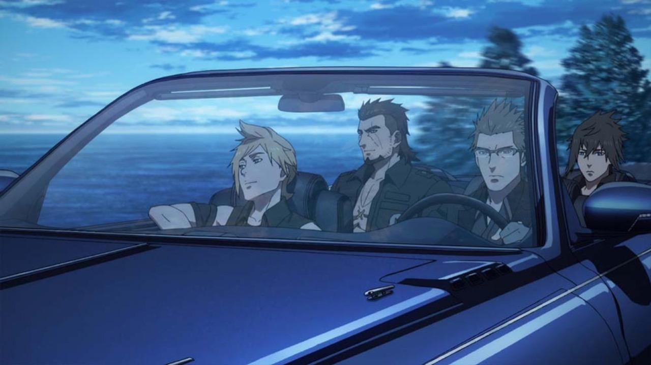 <em>Brotherhood: Final Fantasy XV</em> is an anime spin-off released ahead of the game.