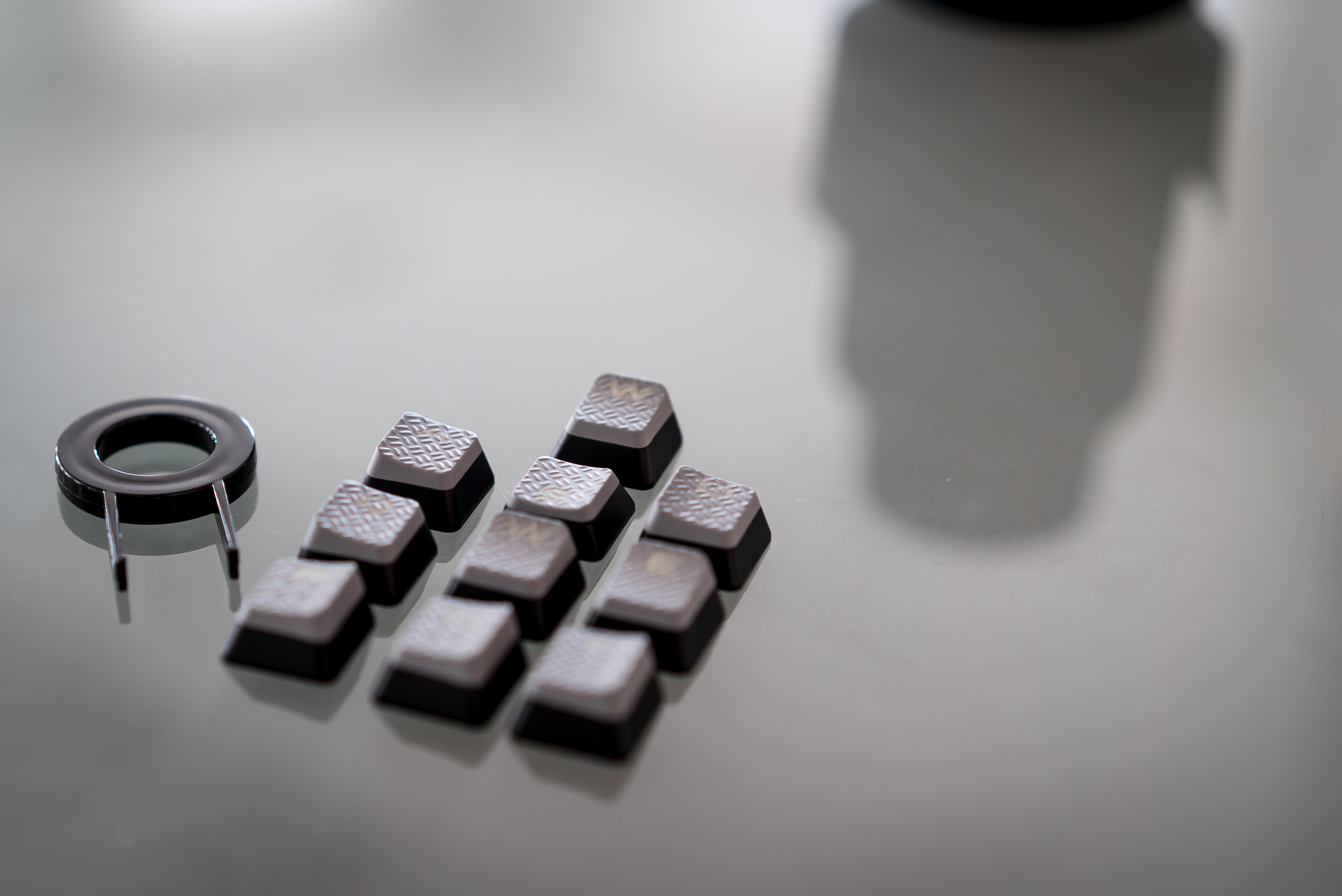 Corsair bundles extra textured keycaps for common gaming keys