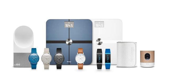 Some of Withings' health gadgets.
