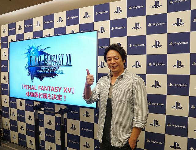 <em>FFXV</em>Director Hajime Tabata.