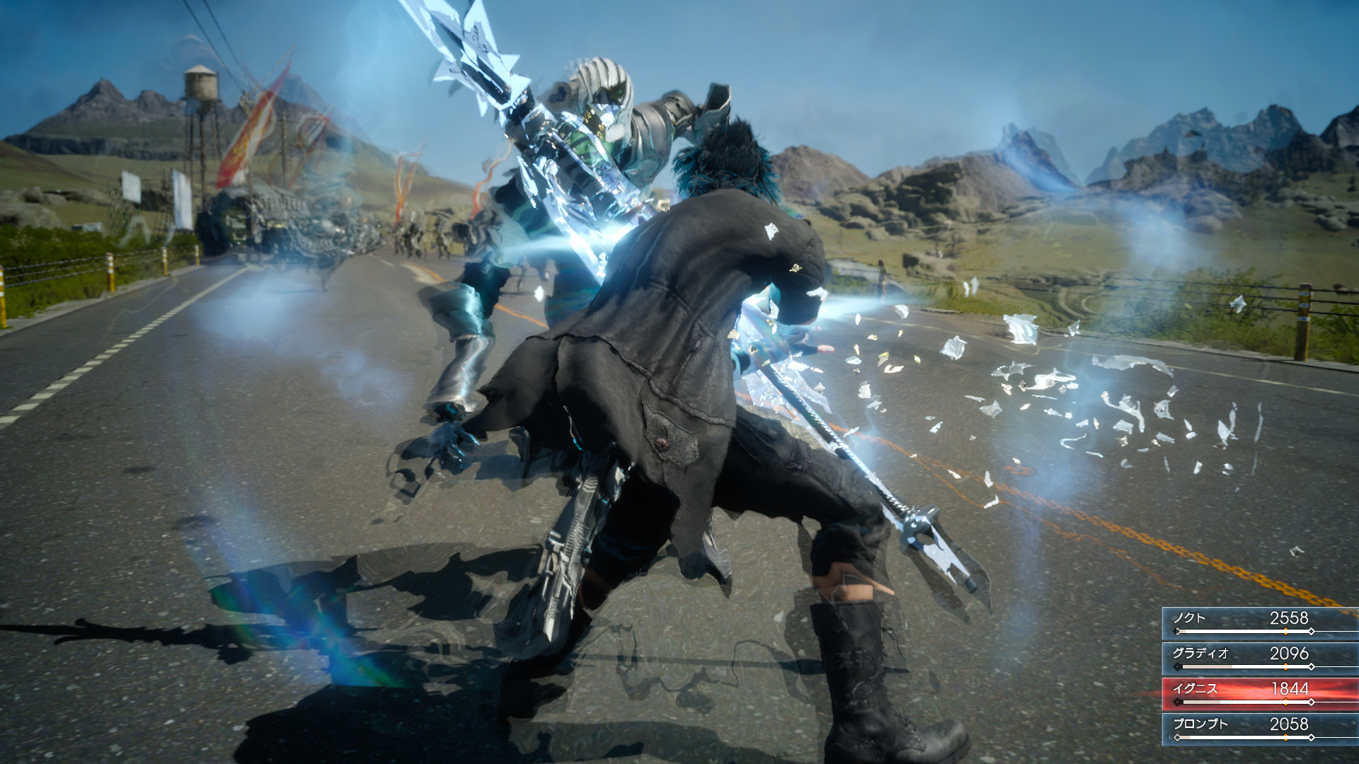 <em>FFXV</em> doesn't feature a traditional turn-based battle system.