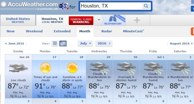 Accuweather issues 90 day forecasts and meteorologists are not amused