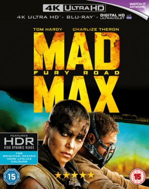 Mad Max, now in 4K Ultra HD mega super hyper Blu-ray