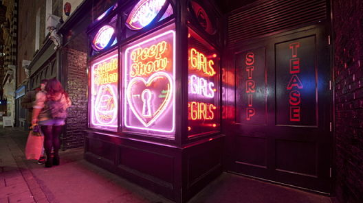 Adult entertainment in Soho has now been squeezed down to just a couple of small streets