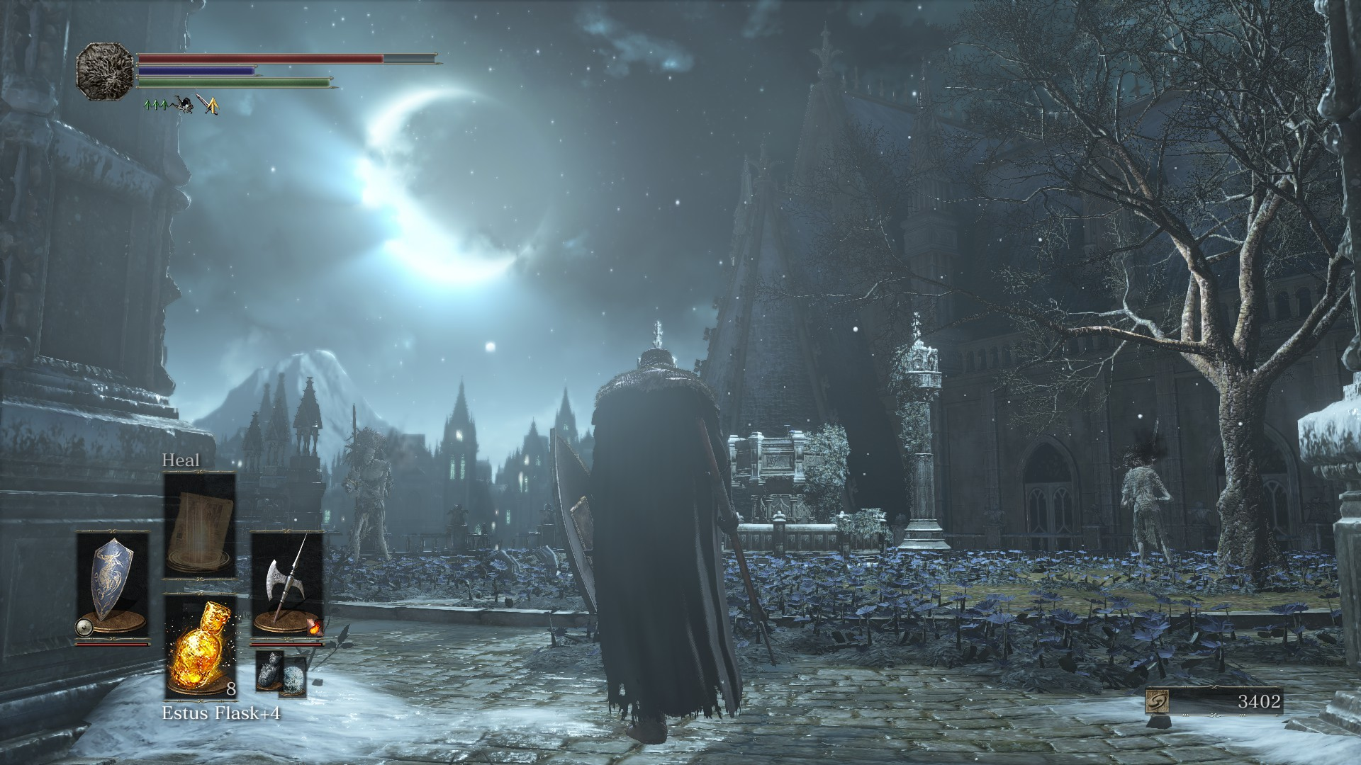 Divisive as ever, <em>Dark Souls II</em> seems to hover on the margins of <em>Dark Souls III</em>without ever quite being fully assimilated. There's certain gear, a reference to Forossa, and a handful of NPCs like Creighton and Alva return. But because the original game was a hazy memory in <em>DSII</em>, and <em>DSIII</em> is a direct follow-on to that,<em> DSII</em> mostly gets shunted to the side.