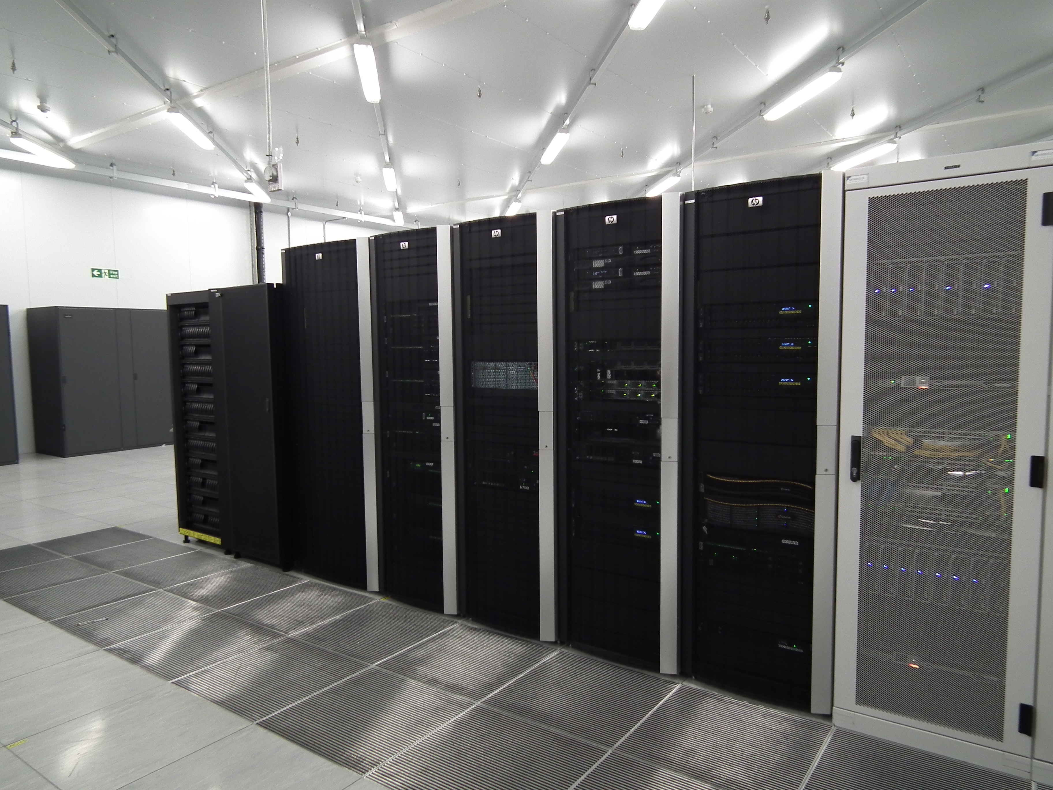 A lot of the equipment in the data centre is Dell or HP.