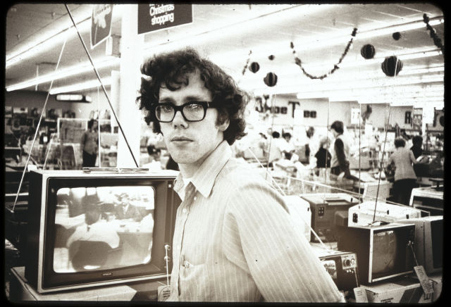 Bill Atkinson in a department store.