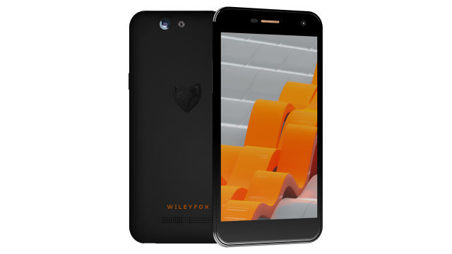 The, er, functional-looking Wileyfox Spark.