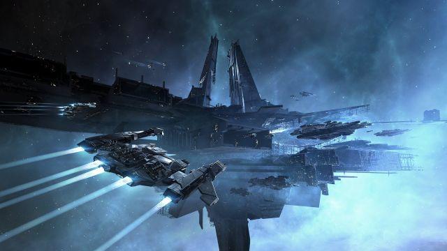 A Citadel in <em>Eve: Online.</em>