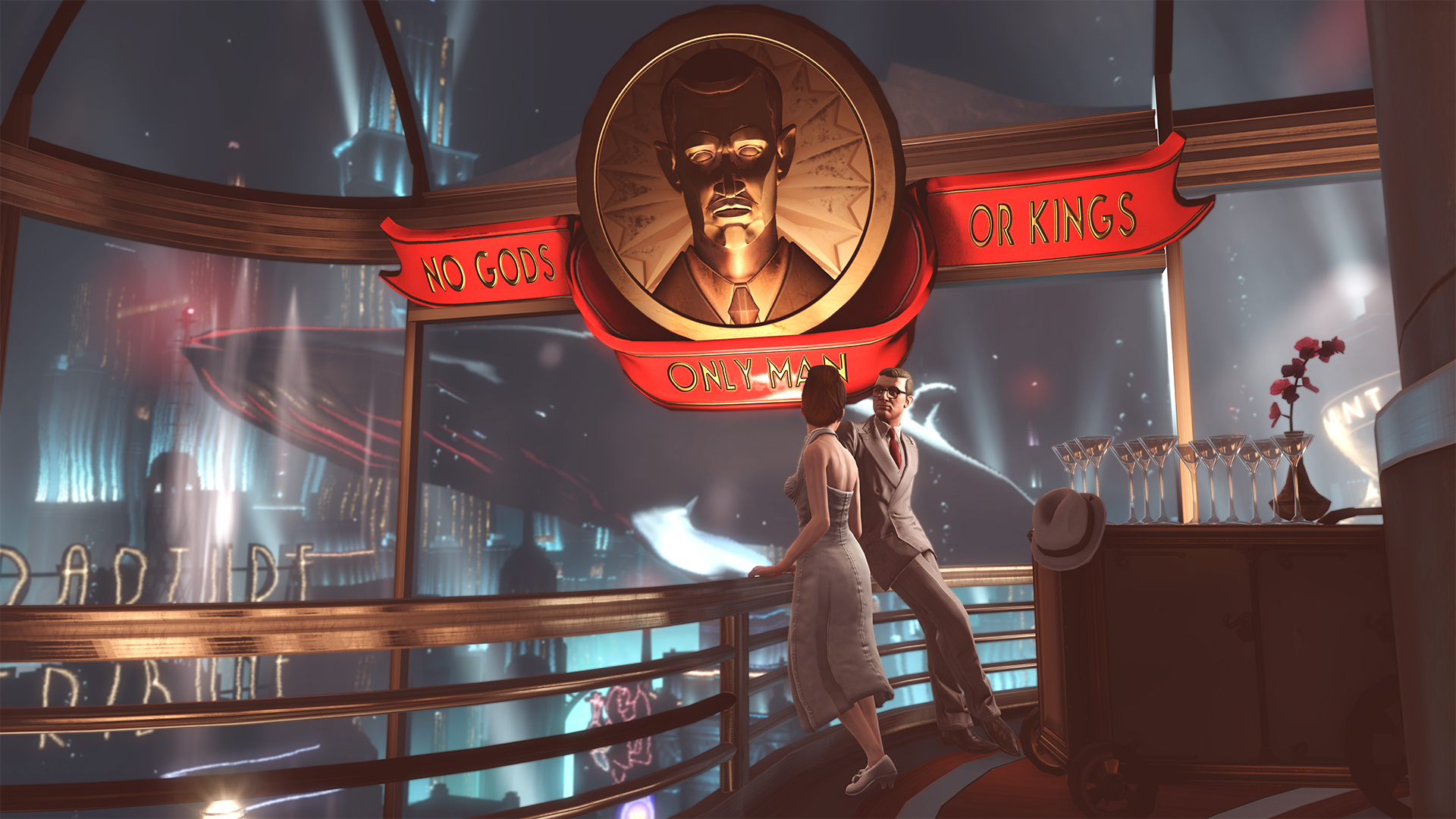 <em>Bioshock</em>'s Rapture is an objectivist paradise, an underwater city free from the stranglehold of the state.