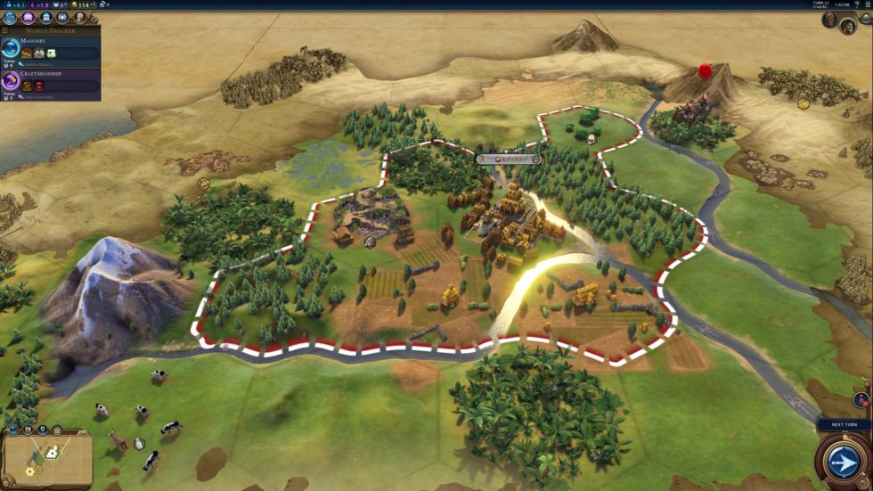 The picturesque environments of <em>Civ6</em> were about to experience some hardships.