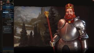 Frederick Barbarossa of Germany. We got off to a bad start, but we got there in the end.