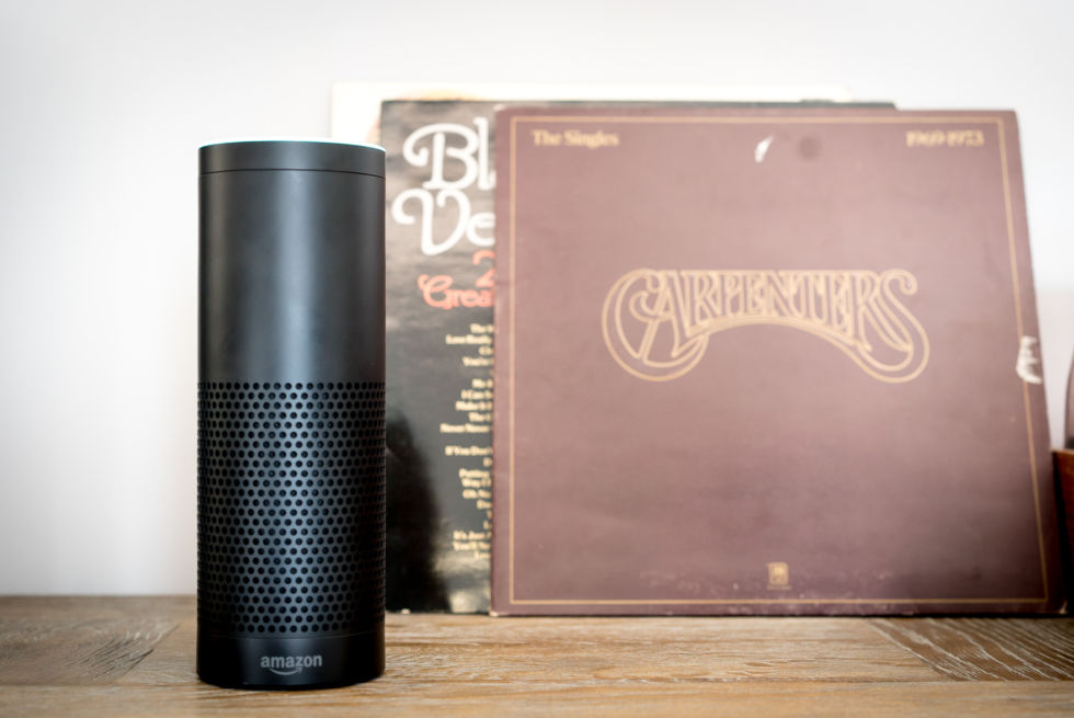 The Amazon Echo will comes in both white and black colours.