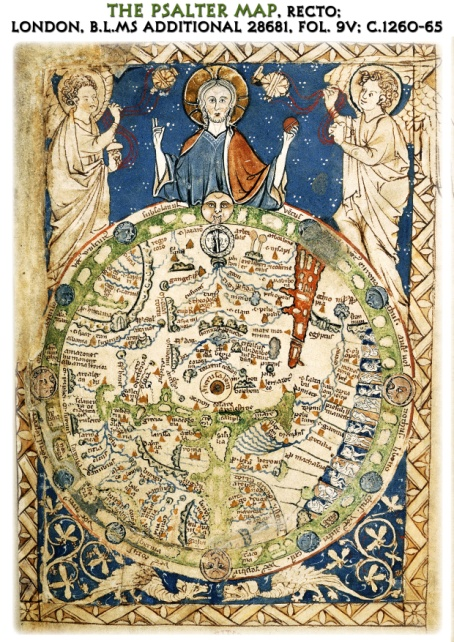 The Psalter Map