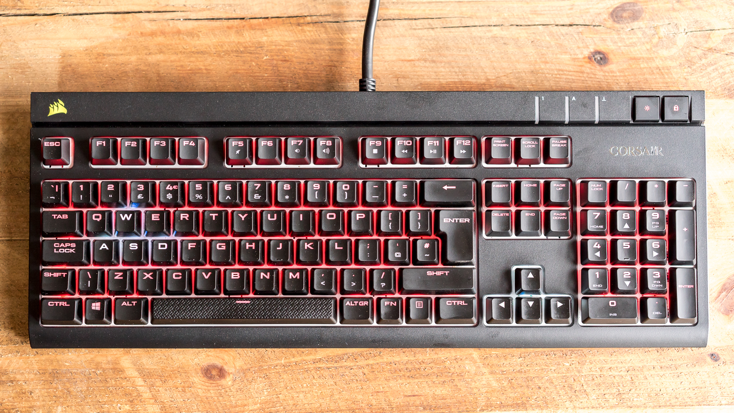 Corsair MX Silent mini-review: Can a mechanical keyboard