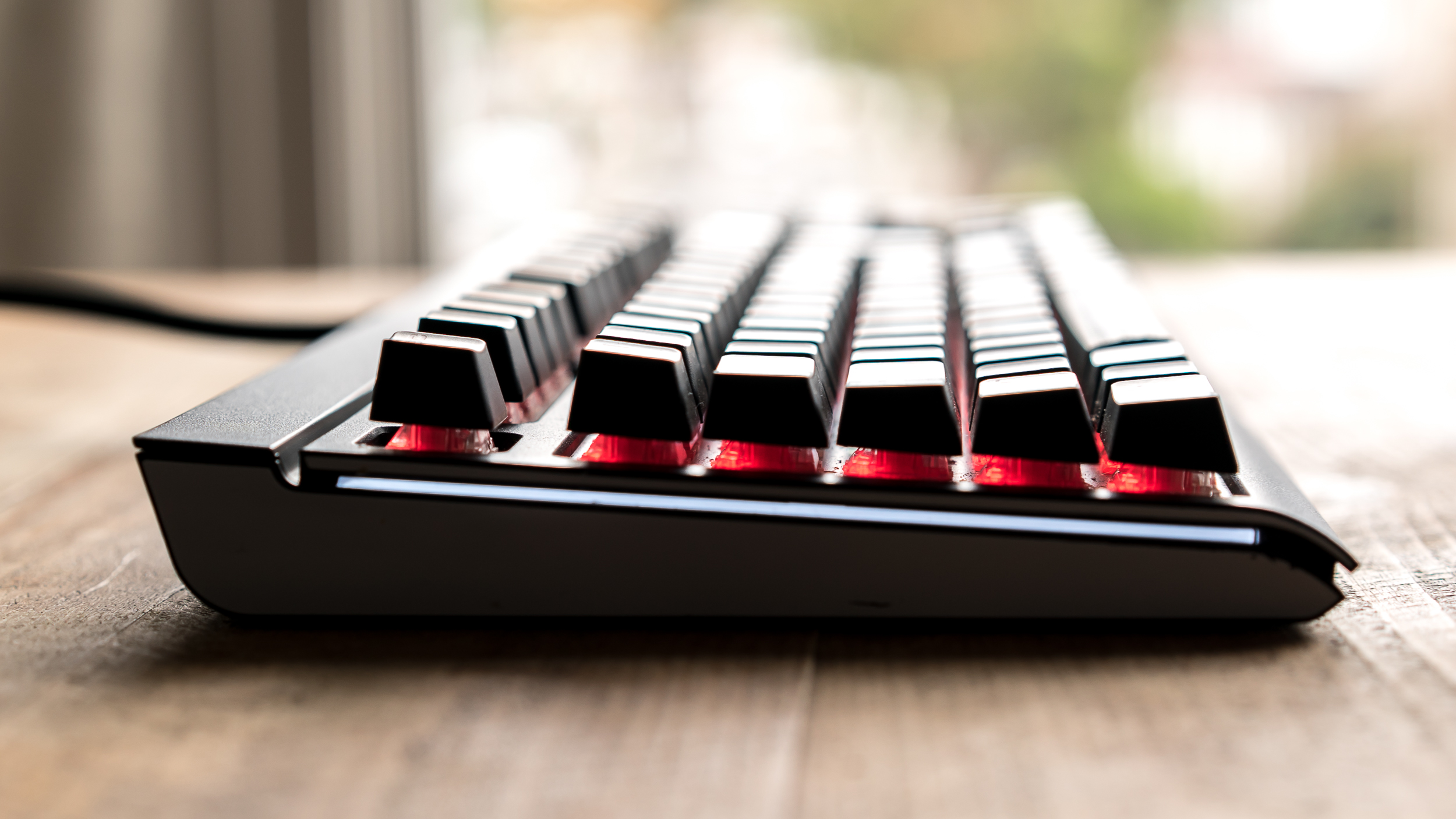 Corsair Mx Silent Mini Review Can A Mechanical Keyboard Really Be Gaming K70 Rgb Red Switch Used Theres Lighting Too For Those That Want The Desktop Bling But Using It Means Braving Corsairs Rough And Confusing Customisation Software