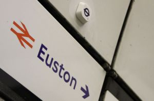 Look up at Euston and you might spy a beacon like this one.