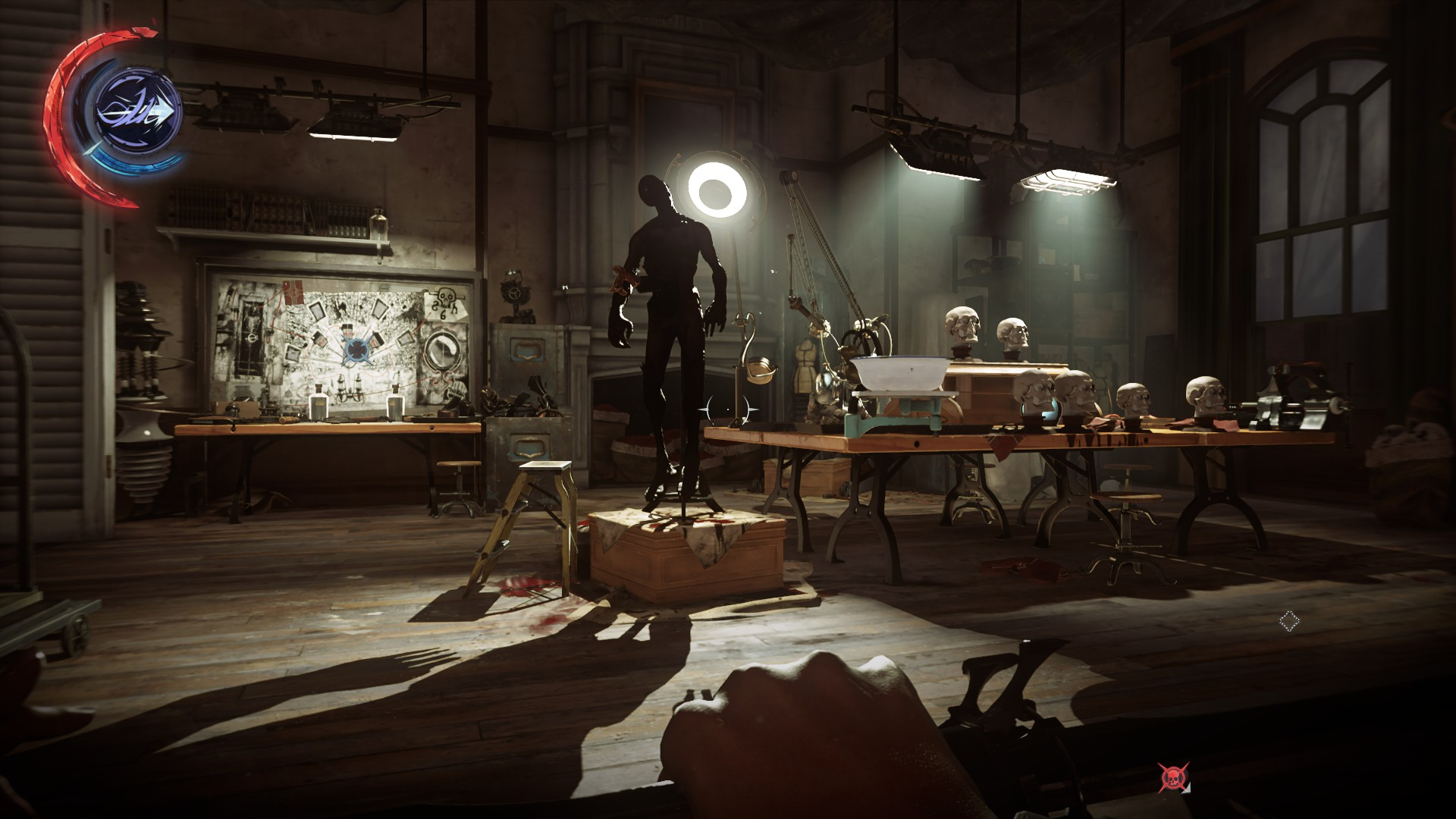 <em>Dishonored 2</em> does dark and dingy, too.