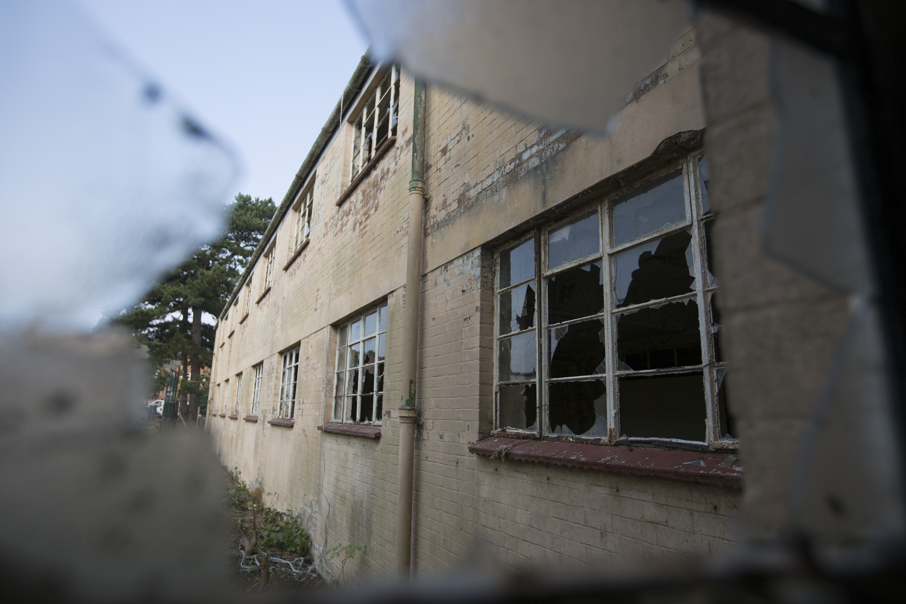 Much of the Bletchley site has fallen into a state of disrepair.