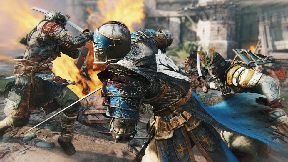 Ubisoft's <em>For Honor</em> will support 4K on PS4 Pro.