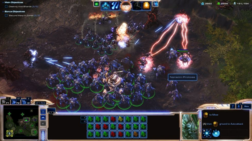 <em>Starcraft 2</em>'s complexity makes it a challenging choice for developing AI.