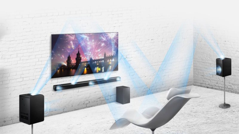 With Samsung S Brilliant Hw K950 Soundbar You Even Don T Need Extra Speakers To Do It