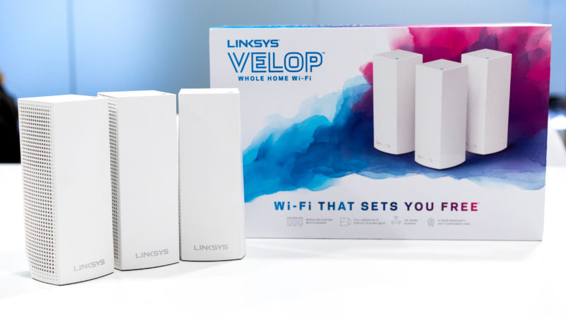 linksys velop brings mesh wi fi to europe but it ll cost you ars technica uk. Black Bedroom Furniture Sets. Home Design Ideas