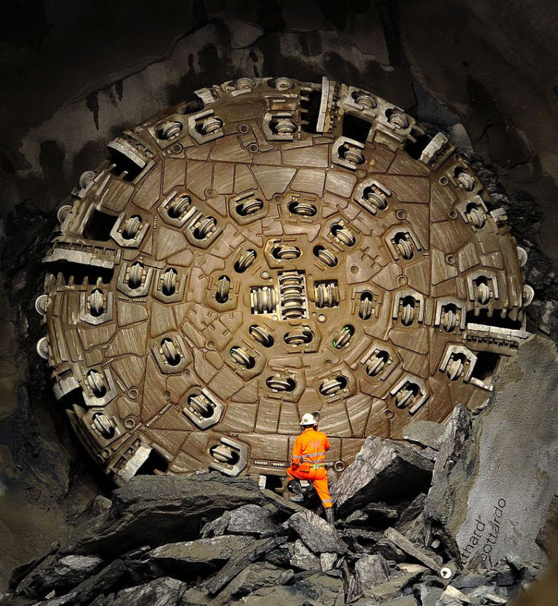 tunnel boring machine nasa - photo #29