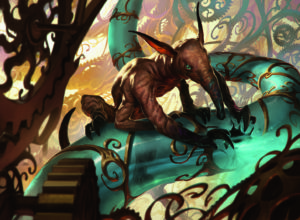 For some reason, there are lots of these cute gremlin creatures in <em>Aether Revolt</em>.