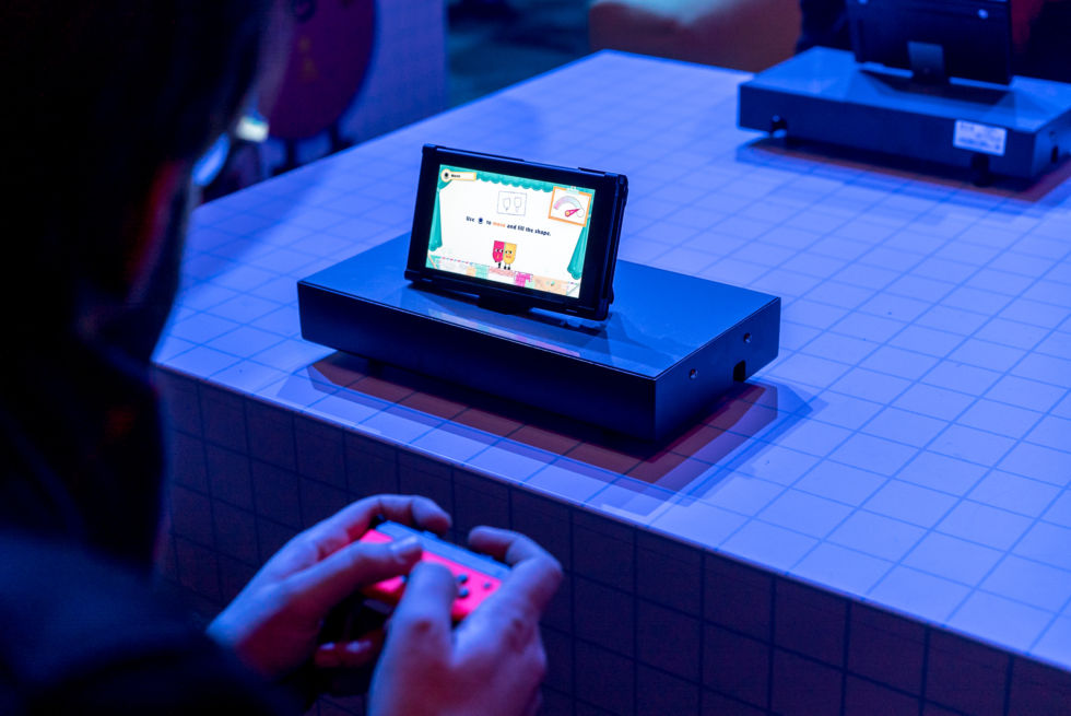 The detachable Joy-Con controllers allow for multiplayer gaming on the go. But will players want to huddle around a 6-inch screen?