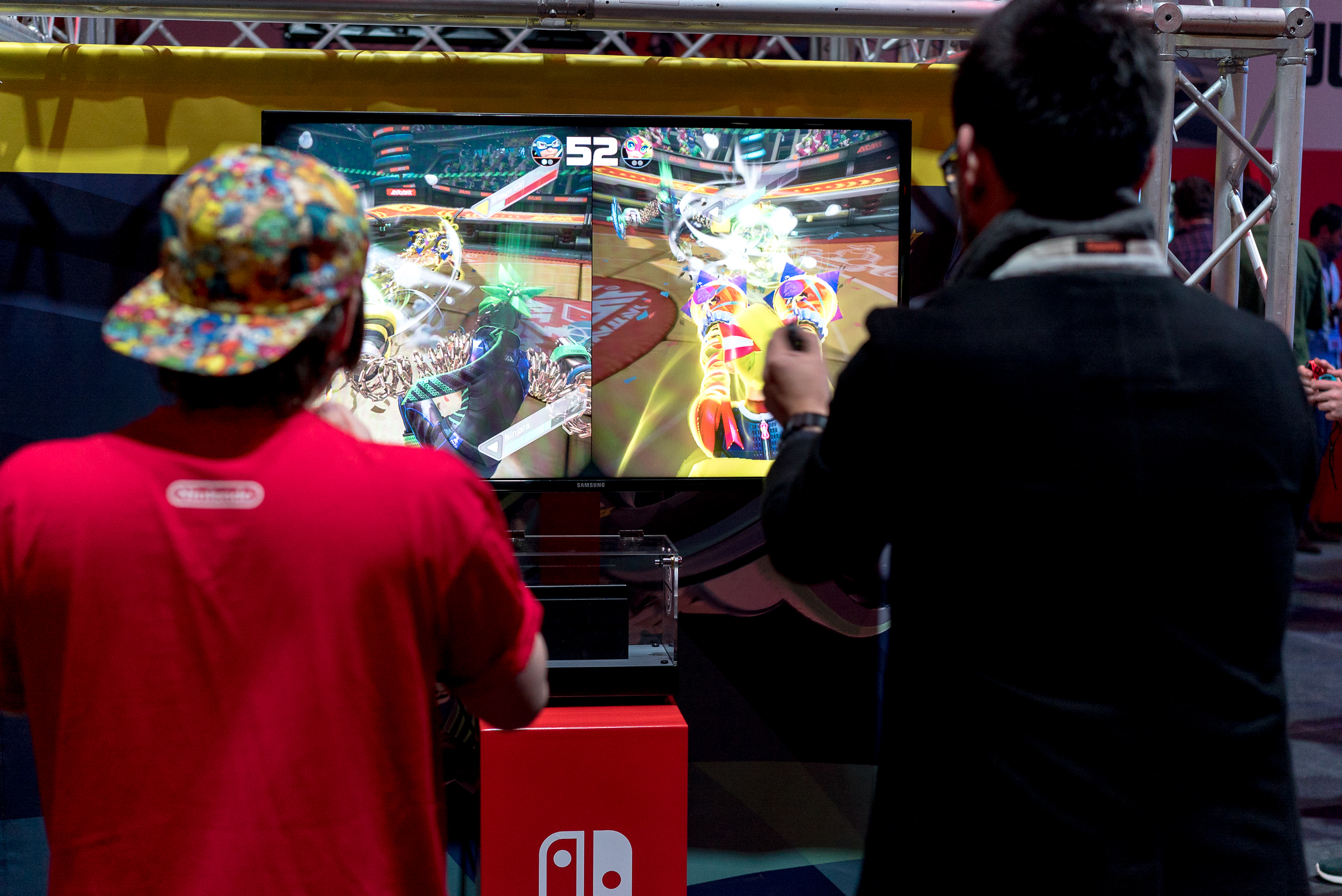 "Games like <a href=""https://arstechnica.co.uk/gaming/2017/06/arms-review-nintendo-switch/""><em>Arms</em></a> continue to feature motion controls, despite a lack of enthusiasm from core gamers."