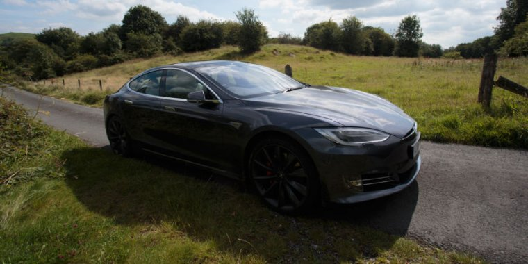 Fantastic Tesla Model S Rural Review Zoom Silently Through Nature