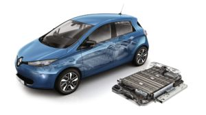 The new battery is the same size, only 15kg heavier, and holds almost twice the charge.