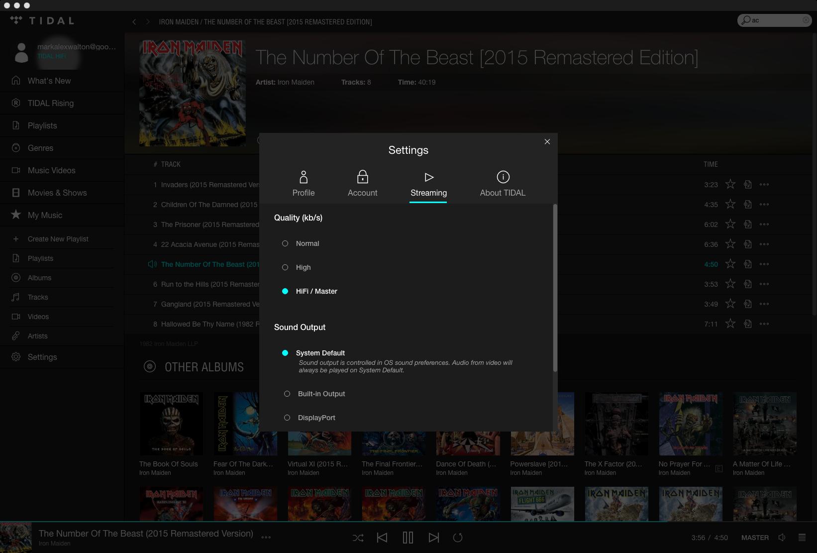 "Tidal now offers ""Master"" 96kHz/24-bit MQA audio to its ""Hi-Fi"" subscribers."