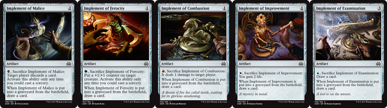 "The new cycle of ""Implements,"" designed to help you enable <em>Revolt</em> and <em>Improvise</em>."