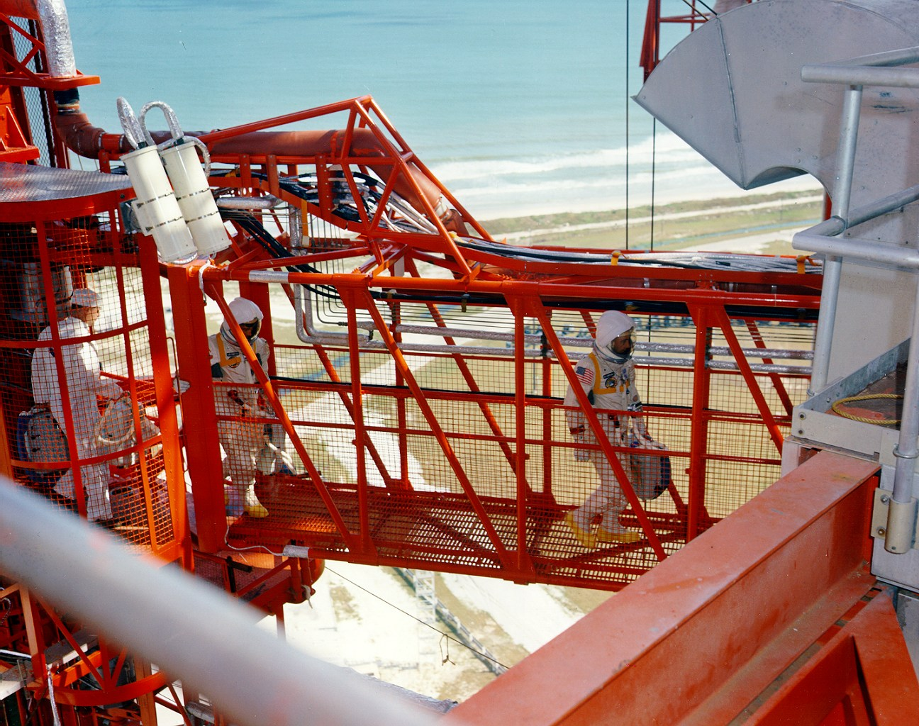 The hell of Apollo 1: Pure oxygen, a single spark, and ...