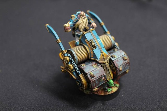 The dwarf team's deathroller, which seems perfectly legit.