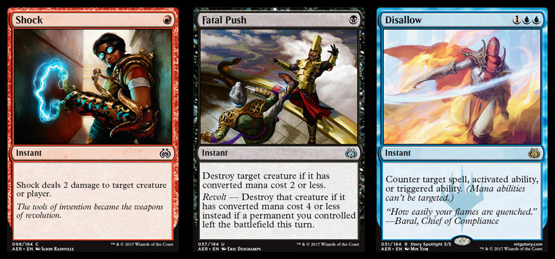 Aether Revolt has a higher-than-usual density of cards that may see Constructed play.