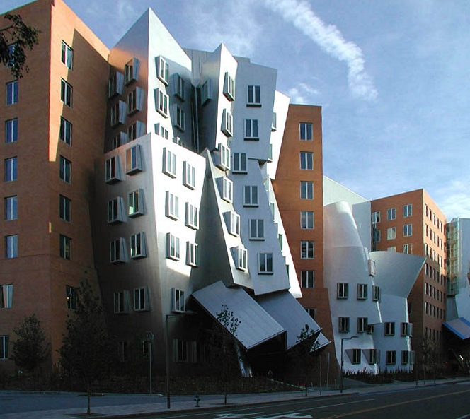 MIT's Stata Center, where both W3C and Richard Stallman have offices.