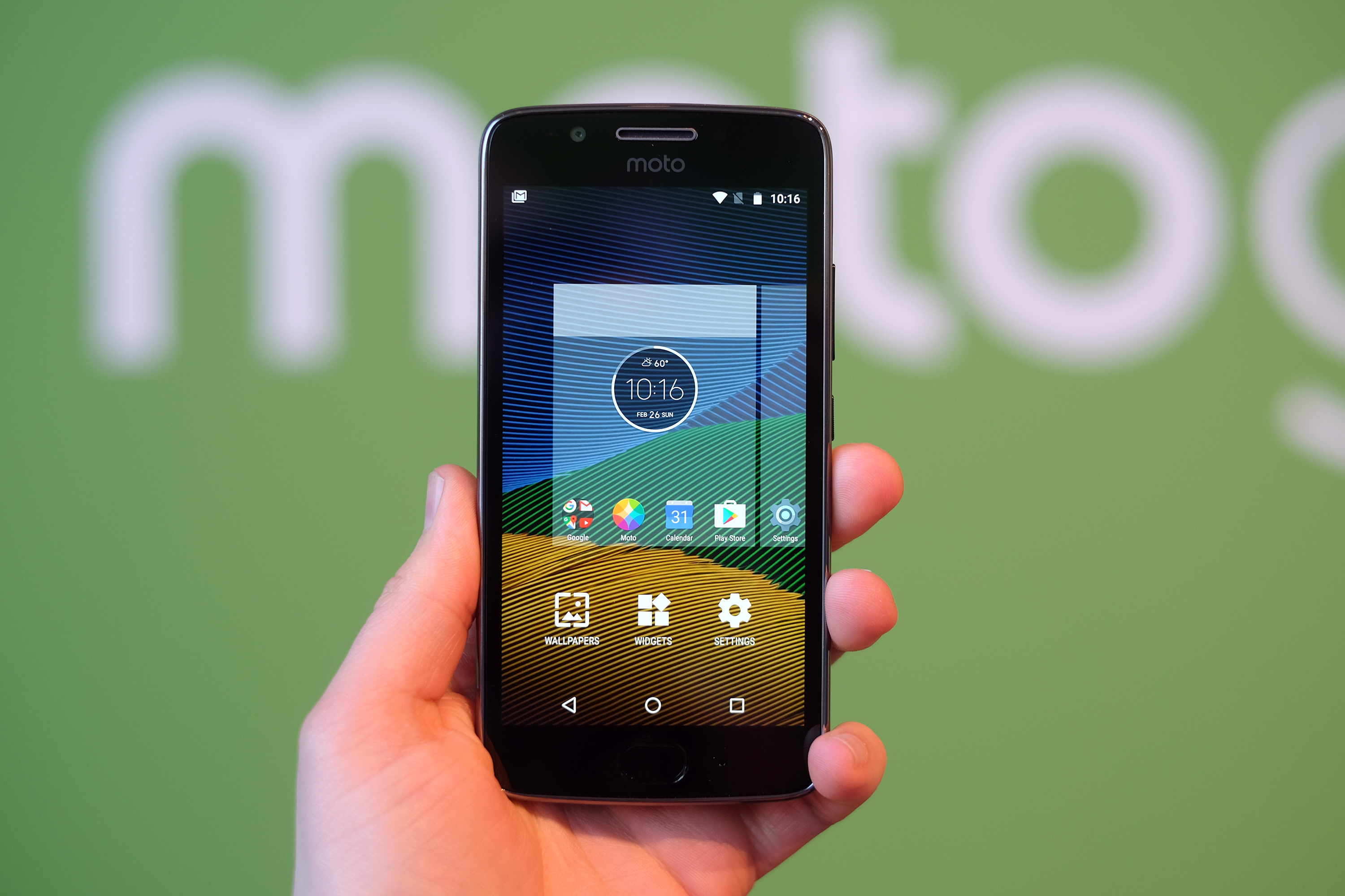 Moto G5 hands-on: A solid, metal-ish budget phone with