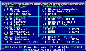 Ah, the joys of setting up multiplayer <em>Doom</em> on old networks. RIP IPX.