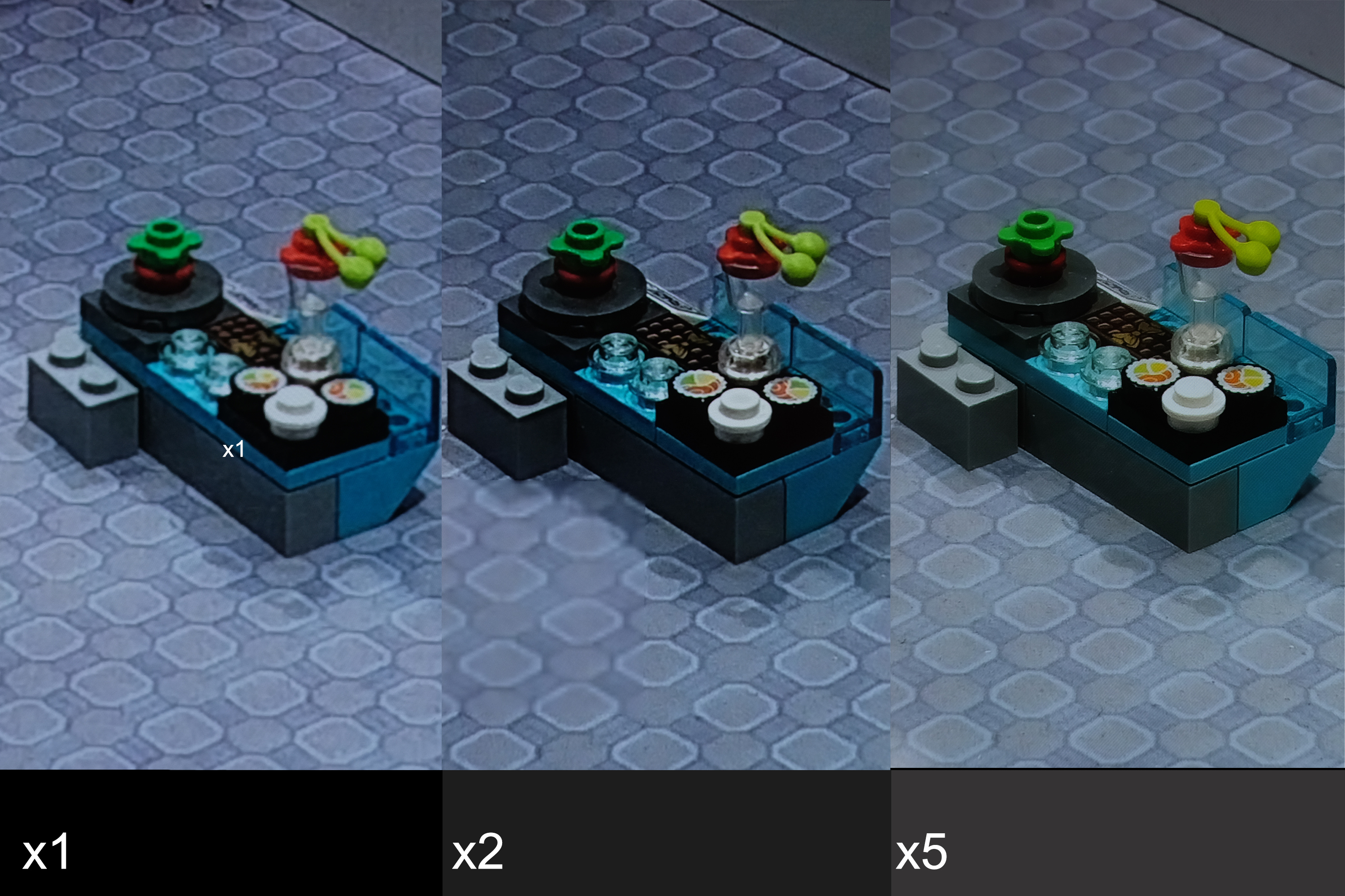As you can see, image quality at 2x (which is computed rather than native) is a bit iffy.