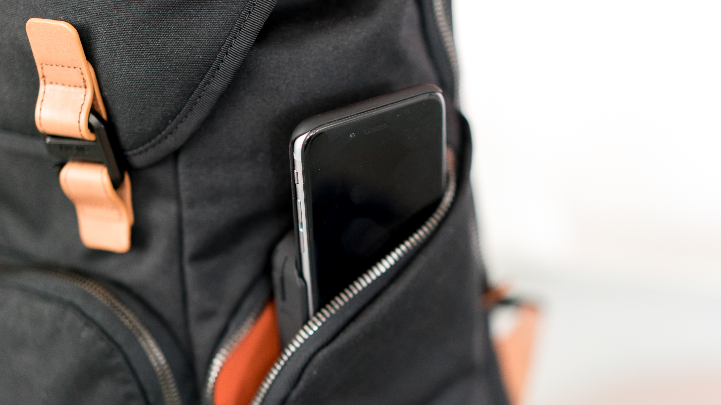 You can opt for an iPhone case that slides into the battery pack.