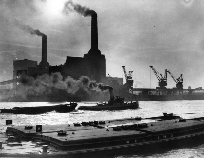 UK's first day without coal power