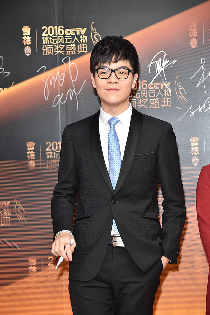 Ke Jie. I wish I was as dapper a nerd as he.